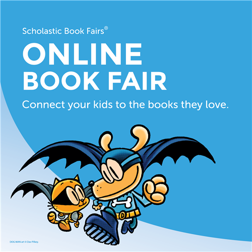 Online Book Fair with Dogman
