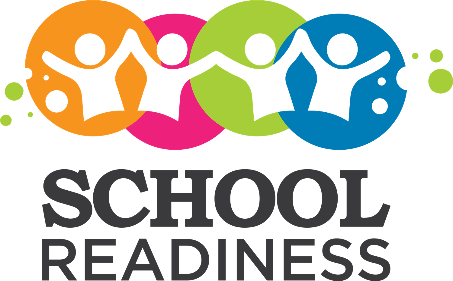 multi colored school readiness logo