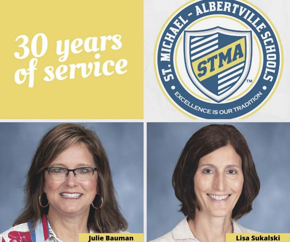STMA Honors Staff for 20 & 30 Years of Service
