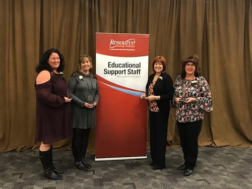 Five STMA Support Staff Recognized with LEEA Awards
