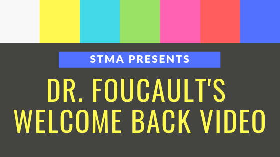 Welcome Back, STMA!