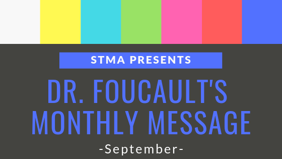 Click Here for Dr. Foucault's Monthly Message